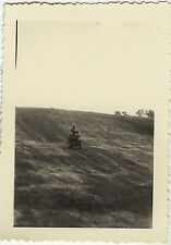 PHOTO ANCIENNE - VINTAGE SNAPSHOT - MILITAIRE MOTO - MILITARY MOTORBIKE