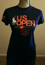 Polo Ralph Lauren Womens Nyc Tennis Us Open 2015 Big Pony S/S T-Shirt Size Small
