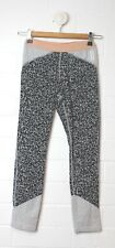 COUNTRY ROAD Grey Black Print Cropped 3/4 Tights Active II Pant Size XXS Size 4