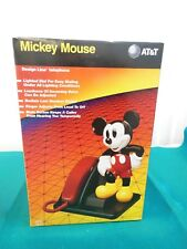 NEW AT&T Mickey Mouse Design Line Touch Tone Telephone   NEW