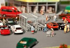 Faller Escala H0 Moderna Einkaufswagen-Unterstand 1:87 Kit Construcción