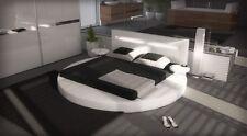 Luxus Rundbett Komplettbett Night Ehebett mit + 7 Zonen Matratze + Lattenrost