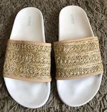 Papaya Straw Like Flip Flops Shoes Size UK 5 EUR 38