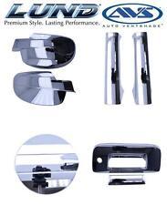 NEW AVS Combo Kit Chevy Chrome Door Lever Fuel Door Mirror Tailgate Handle Cover