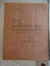Movie letterhead 7/27/23 Film Booking America Jack Dempsey Firpo Contract boxing