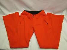 The North Face Woman's Recco Orange Snow Pants - Size XS/TP