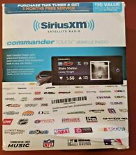 SiriusXm - Commander Touch Satellite Radio Receiver - Black