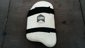 Single GM Cricket Original Limited Edition Adult Outer Thigh Guard Foam Pad RH