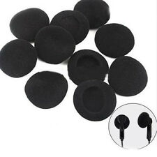 10pcs Wholesale Black Foam Replacement Ear Buds Tips Cushions For Phone Earphone
