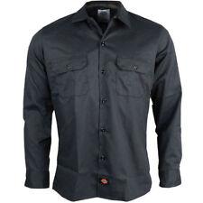 Camicie casual e maglie da uomo a manica lunga nera Dickies