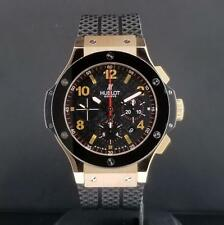 Hublot Big Bang 44mm Chrono 18k Rose Gold & Ceramic Bezel Ref. 301.PB.131.RX