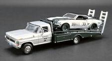 Greenlight - FORD F-350 RAMP TRUCK + 1969 TRANS AM MUSTANG #33 Allan Moffat 1:64