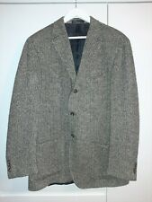 "Mens Ralph Lauren Polo Herringbone Blazer Jacket. Virgin Wool 42L 23"" Pit to Pit"