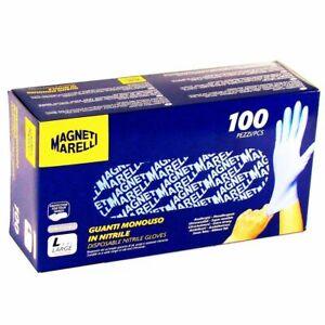 Profi Nitril- Handschuhen Puderfrei Verpakung 100 St. Größe L - Magneti Marelli