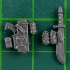 Blood Angels Tactical Squad Space Marines Holster Dolch Warhammer 40K Bitz 2669