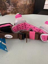 Fuel Belt 2 Water Bottle Pink/Brown Hiking Running Hydration Storage Belt System