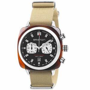 Briston Clubmaster Sport Quartz Men's Watch 17142.SA.TS.1.NK RRP £265