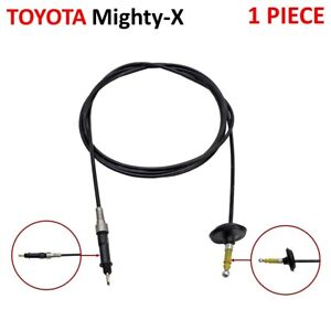 Fuel Lock Control Gas Door Release Cable Fits Toyota Hilux Mighty-x 1989 1997