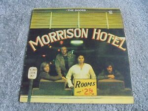 The Doors - Morrison Hotel 1970 UK LP ELEKTRA 1st