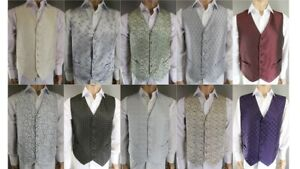 WHOLESALE JOBLOT CLEARANCE 30000 x MENS EX HIRE NEW SPECIAL OCCASION WAISTCOATS