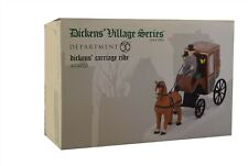 Department 56 - Dickens Village Dickens Carriage Ride 4036521 New