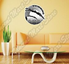 "Swimming Professional Swimmers Dive Sport Wall Sticker Room Interior Decor 22"""