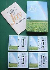 Songs of Joy Jim Reeves John Hanson + Box Set Cassette Tape x 4 - TESTED