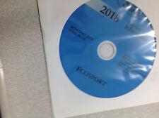 2018 Ford ECOSPORT Service Shop Repair Workshop Information Manual CD New