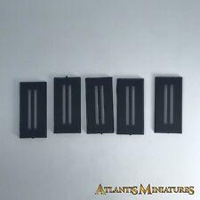 X5 (25mm por 50mm) bases de Caballería-Warhammer/Warhammer 40K/Señor De Los Anillos