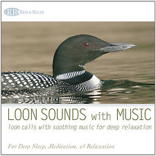 LOON SOUNDS with MUSIC CD: Loon Calls Soothing Music Nature Sounds NEW UNOPENED!