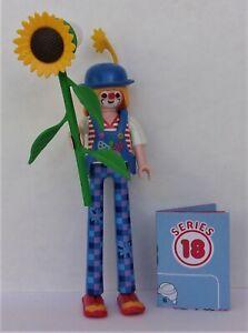 Playmobil Mystery Series 18 Girls  Circus Clown on Stilts  #70370  New  2020