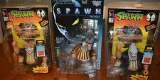 VERY COOL COLLECTION 3 McFARLANE SPAWN THE COMICS & MOVIE CLOWN ACTION FIGURES