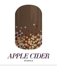 1 Half Sheet Jamberry Fall 2017 'Apple Cider' Nail Wrap Pre-Order