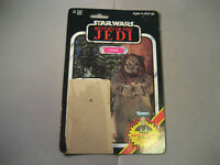 Vintage 1984 Star Wars Lumat Ewok ROTJ  79 Cardback Only READ