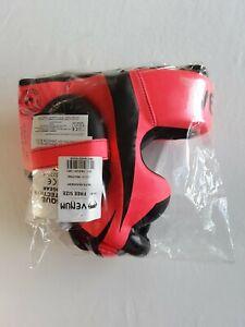 VENUM Elite Hadgear Neon Pink MMA/Boxing Headgear Brand New