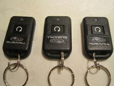 Lot of 3 Subaru key fob  auto start remotes OEM new