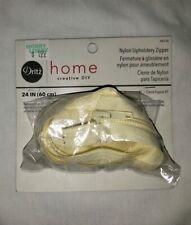 50 yards of number 4 Nylon BK--Zipper  For Upholstery bags pillows slipcover.