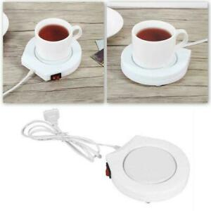 Electric Coffee Mug Warmer Heating Plate Tea Milk Cup Pad Heater Portable T5F2