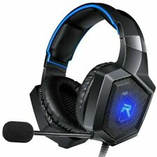 RUNMUS K8 Stereo Gaming Headset Surround Sound LED & Noise Canceling Microphone