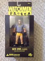 WATCHMEN DC Direct NITE OWL (Classic) Action Figure NEW IN BOX
