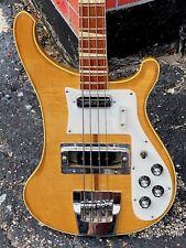 1972 Rickenbacker 4001 Bass w/Checkerboard Binding & Crushed Pearl inlays WOW !