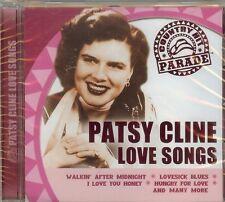 PATSY CLINE - LOVE SONGS - CD - NEW
