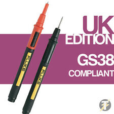 Fluke TP175 Twist Guard Test Probes, 1000V Voltage,10A Current, 2mm Tip Diameter