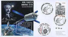 """VA213L-T2 FDC KOUROU """"ARIANE 5 Rocket - Flight 213 / ATV-4 Albert EINSTEIN"""" 2013"""