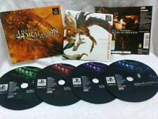 WOW! The Legend of Dragoon (PlayStation, 2000) Japan!