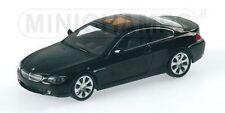 BMW 6 Series Coupè 2006 Black 431026020 1/43 Minichamps