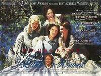 Little Women movie poster : Winona Ryder, Kirsten Dunst - 12 x 16 inches