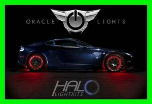 RED LED Wheel Lights Rim lights Rings by ORACLE (Set of 4) for CHEVROLET 4