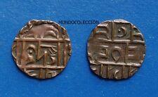 BHUTAN 1/2 rupia deb 1835-1910
