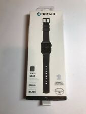 Nomad  Leather Watch Strap for Apple Watch 38mm - Slate gray #N210